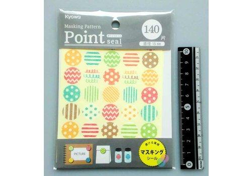 ?Masking point sticker pattern 140p