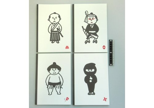 A5 Japanese style notebook 28s