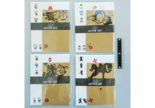Japanese style letter set