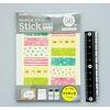 Pika Pika Japan Masking stick sticker 56pcs girly