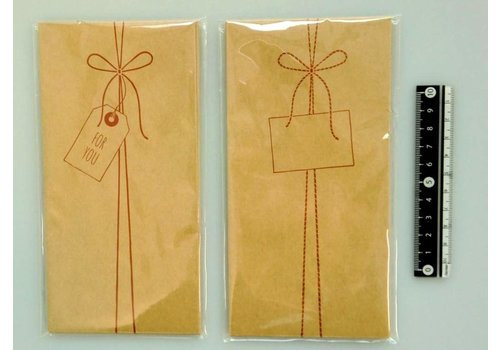 Multi-purpose gift bag(craft) 8p