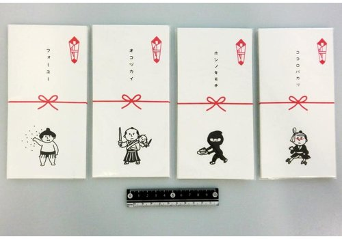 Japanese style money envelope