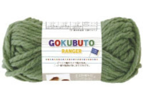 Knitting yarn, extra thick, green
