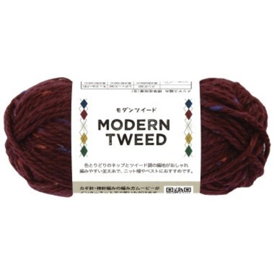 Modern tweed 2 Bordeaux-1