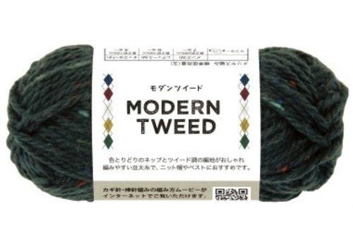 Modern tweed 5 green