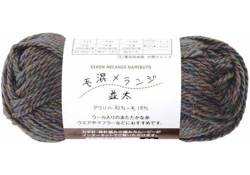 Knitting yarn (18% wool), gray