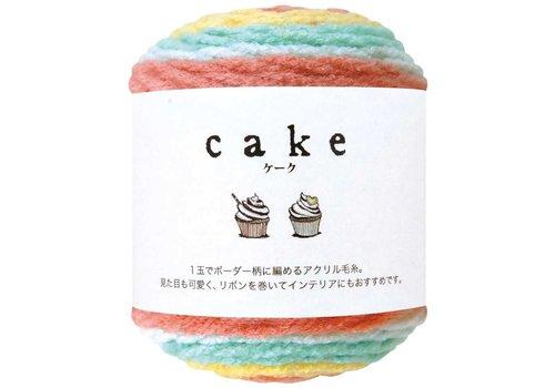 Yarn knitting Cake 26 flower