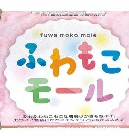 Pika Pika Japan Fluffy mole 6 beige/pink