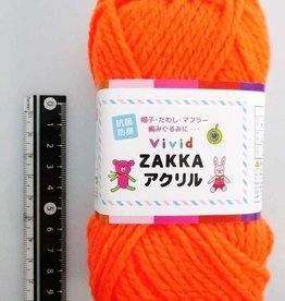 Pika Pika Japan Vivid ZAKKA acrylic 3 fluorescence orange