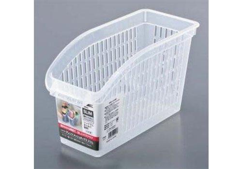 Plastic mesh basket, slim