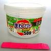 Pika Pika Japan Plastic food canister, short, medium