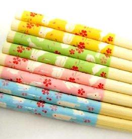 Pika Pika Japan Chopsticks sirotakehanausagi 22.5