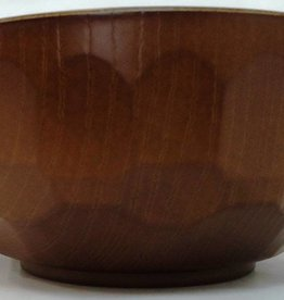 Pika Pika Japan Wood tortoise shell patter middle bowl(OK for dishwasher)