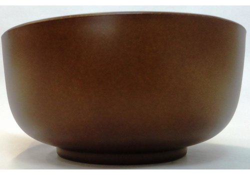 Wood pattern middle bowl (OK for dishwasher)