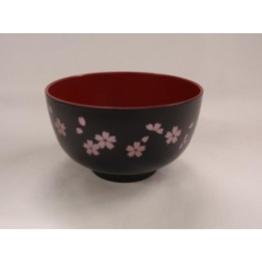 Bowl for soup?Washing-up washing machine OK? sakura black-1