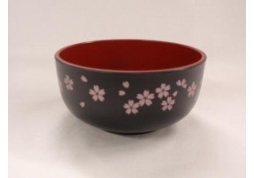 A middle bowl ?Washing-up washing machine OK? sakura black
