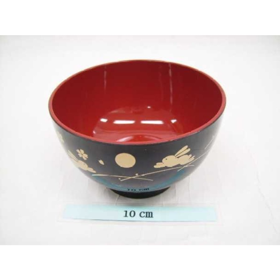 Bowl for soup tukiusagi black-1