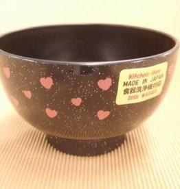 Pika Pika Japan Soup bowl heart
