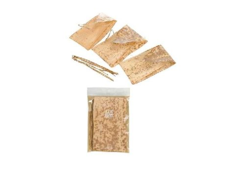 Bamboo leaf and string for wrapping food