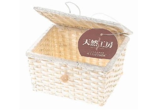 bamboo box with lid S