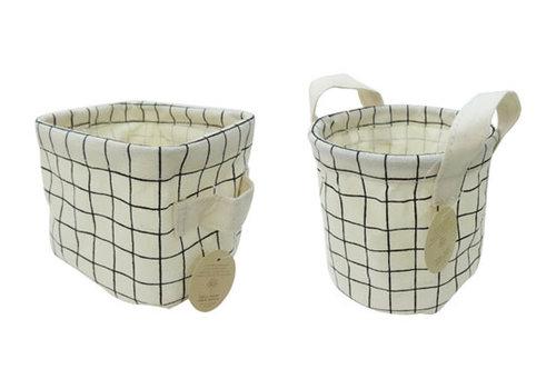 Fabric basket check