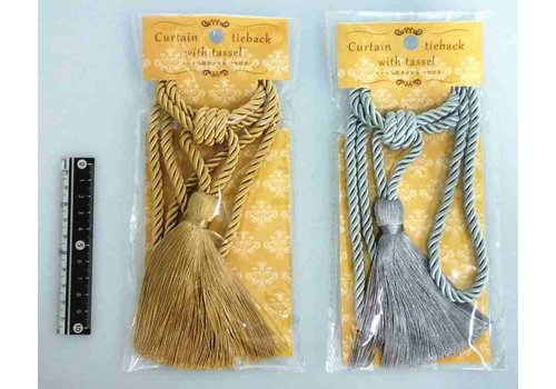 Curtain tie back with tussle GD SV