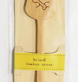 Pika Pika Japan Animal bamboo spoon dog