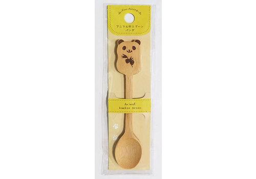 Animal bamboo spoon panda