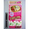 Pika Pika Japan Antibacteriële vellen voor lunchbox met dierenprint, klein - 40 vellen