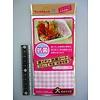Pika Pika Japan Antibacteriële vellen voor lunchbox met ruitprint, groot - 24 vellen