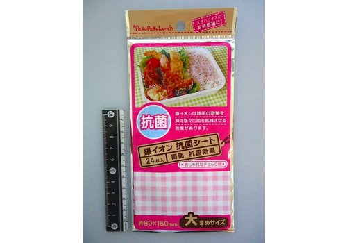Antibacterial sheet for lunch box, large