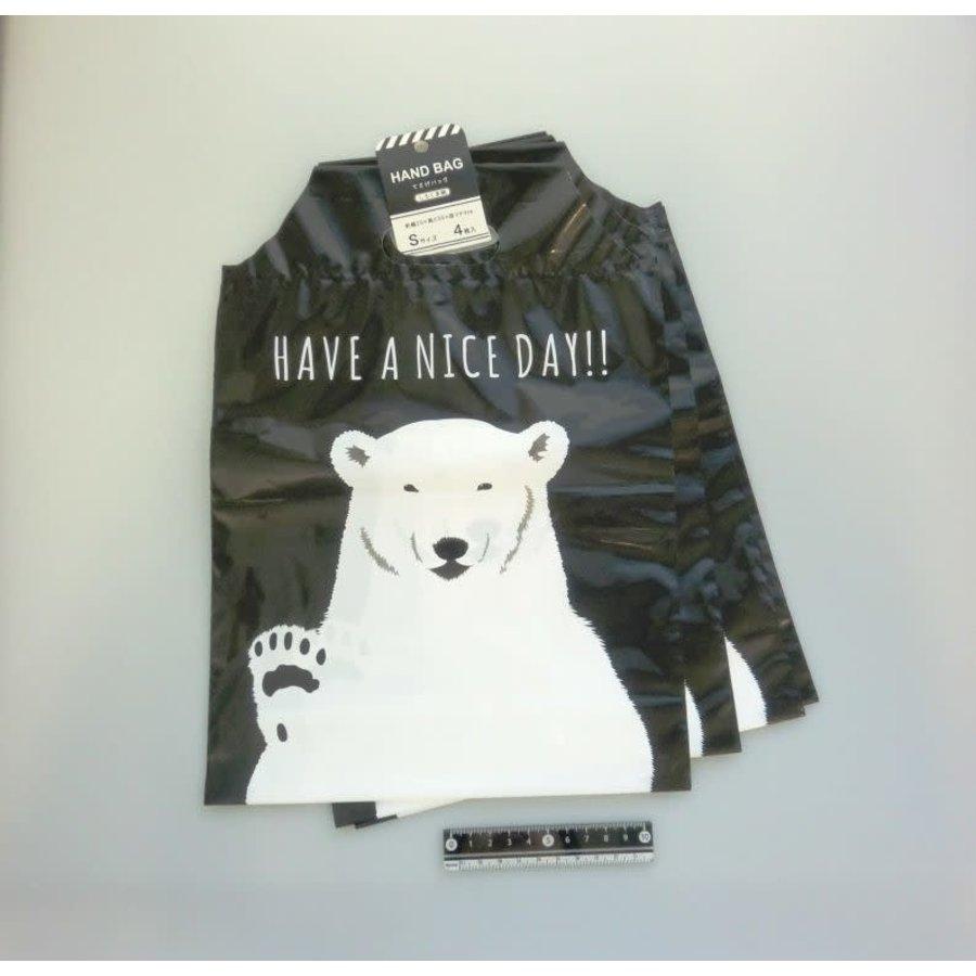 Cadeautas met ijsbeer ontwerp, klein - 4 stuks-1