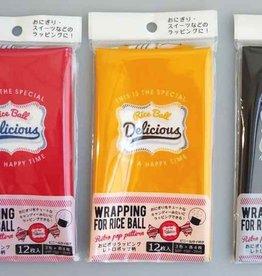 Pika Pika Japan Rice ball wrapping retro pop pattern 12s