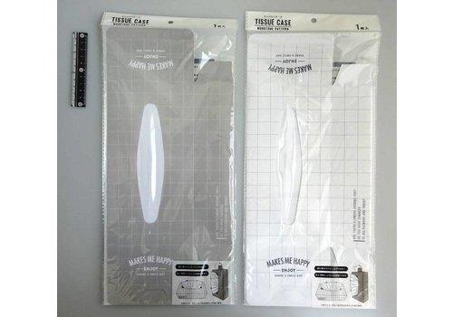 Tissue case monotone pattern