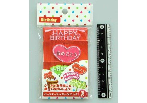 Food picks for birthday, 3p
