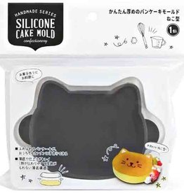 Pika Pika Japan Easy thick pancake mold with cat shape