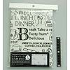 Pika Pika Japan Cafe motif picnic sheet white 60x90cm