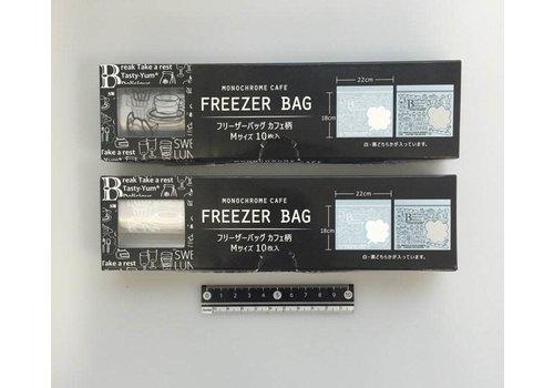 Freezer bag cafe motif M 10p