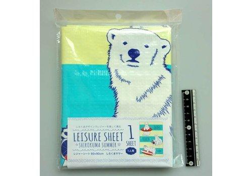Ground sheet, bear, 60x90cm