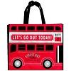 Pika Pika Japan Leisure tote bag check bus