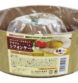 Pika Pika Japan Kraft chiffon cake mold No 6 size 1p
