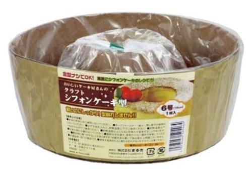 Kraft chiffon cake mold No 6 size 1p