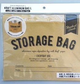 Pika Pika Japan Craft aluminum coated bag L 3p