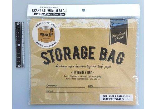 Craft aluminum coated bag L 3p