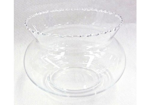 Glass bowl for gold fish