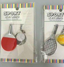 Pika Pika Japan Sports key chain table tannins/tennis