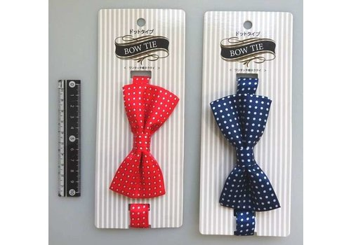 ?One-touch bow tie dot
