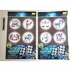 Pika Pika Japan Galaxy bath time luminescence wall sticker constellation