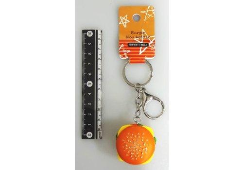 Keychain, hamburger
