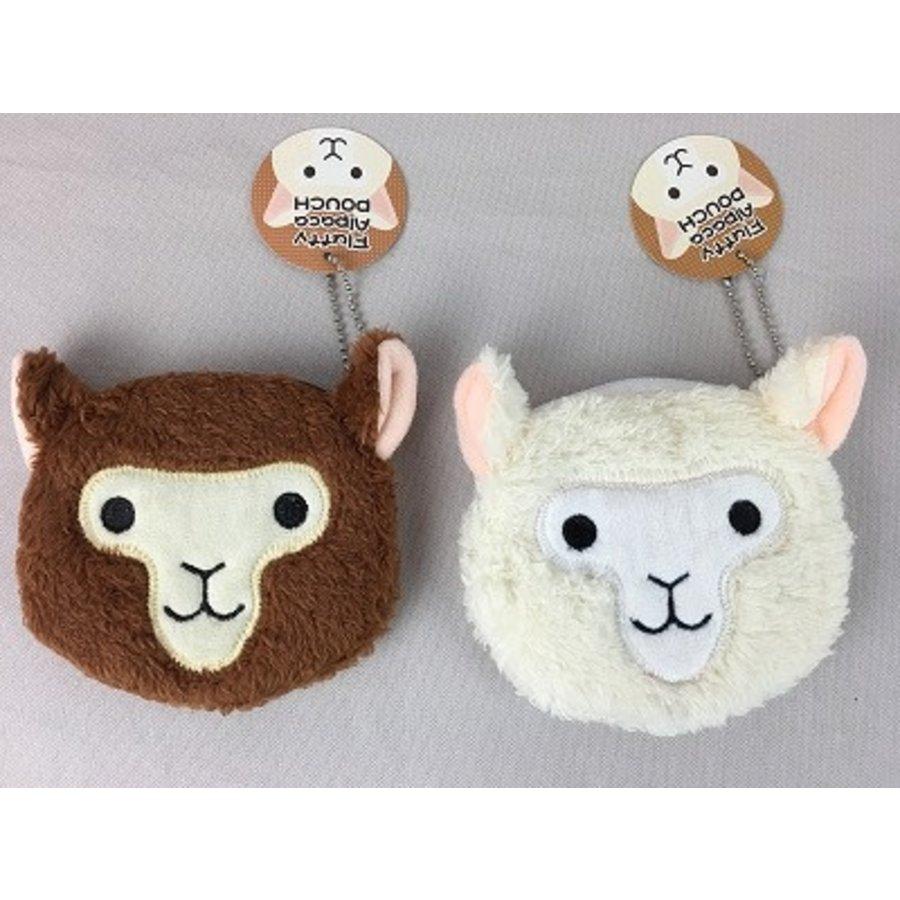 Fluffy alpaca pouch-1